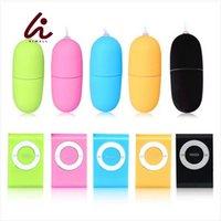Yutong Himall 5 couleurs étanche portable sans fil mp3 Vibrateurs Télécommande Femmes Vibrant Egg Body Massager Nature Toys pour femme
