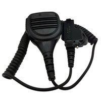 Walkie Talkie Headset PPT MIC ile Talklı Kulaklık, Takviyeli Kablo, Su Geçirmez IP54 Omuz Mikrofon Değiştirme XTS2500 XTS5000 HT1000 İki Yönlü Radyolar