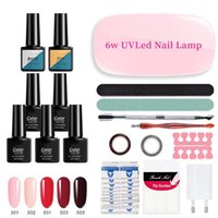 Nail Art Kits Extension Starter Kit With UV Light Builder Gel Quick Enhancement Professional Manicure Tool