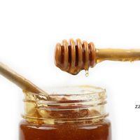 Мини деревянные медовые палочки мешалки медовые тапыюшки вечеринка Party Spoon HWD9002