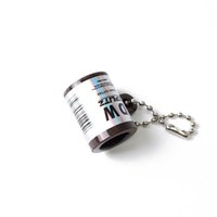 Kunststoff Zigarrenschneider Tragbare Keychain Rauchen Zubehör Mini Zigarillo Löschgerät Tabak Clean Tools LLLE7252