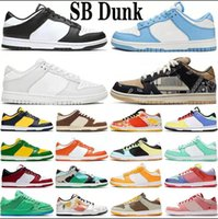 Top Quality Sb Dunk Mens Running Shoes Celadon Photon Dust Black White Skateboard Low Sunset Pulse Dusty Olive Unc Green Glow Trainers 36-45