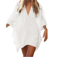 Beach Cover Ups 2021 Summer Women Dress Bikini Chiffon Short...