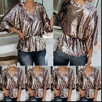 Femmes Blouses Mode Femmes Clubwear Chemises occasionnelles Cuisson Tunique Tunique Élégante Tops élégants Colf chemisier à manches longues