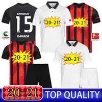 Qualità Tailandia Frankfurt Soccer Jersey Fans Giocatore Versione 20 21 Dost Silva Camicie da calcio Uomini adulti Kit bambini Camisata de Frankfurt