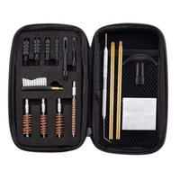 Professional Hand Tool Sets 16pcs set Gun Cleaning Kit Barrel Brush Part Caliber Pistol 22, 357, 40, 45 Mm For Most