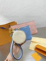 حقيبة الحقيبة الحقيبة حقيبة ثلاثة الحقائب مصمم حقيبة يد نسائية حقيبة يد جلدية مصممين من بركة سباحة الصيف 2021ss مجموعة مقبض محفظة محفظة M80407
