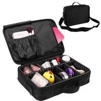أكياس التخزين safbet جودة عالية للماء أكسفورد المهنية ماكياج المنظم حقيبة السفر المحمولة انفصال مربع التجميل