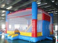 Kids Jump Bouncy Castle Inflatable Jumping Bouncer Trampoline Bouncing Castles Slide