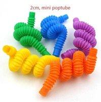 ラットバスターホースポップチューブカラー格納式チューブシュリンクベローズ子供のストレスリリーフ玩具パーティー賛成