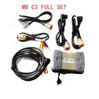 نجمة C3 PRO أداة تشخيص السيارات NEC المرحلات MB متعددة المعدد مع HDD Software V2021.06 مجموعة كاملة لأدوات السيارات / الشاحنات