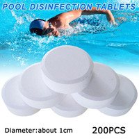 200Pcs Chlorine Tablets Multifunction Instant Disinfection For Swimming Pool Tub Spa Water Purification Wholesale & Accessories