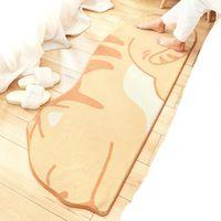 Carpets Cartoon Animal Shape Home Living Room Carpet Floor Mat Children Plush Bedroom Long Bedside Rug