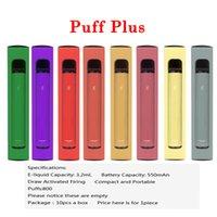 Puff Bar Plus Disposable Pod E-cigarette Device 800 Puffs 550mAh Battery 3.2ml Prefilled Cartridges Vape Pen VS Flex Bang XXL Max