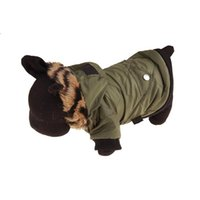 Dog Apparel Pet Jacket Coat Winter Autumn Thickening Warm Puppy Clothes Hood