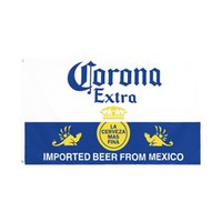 factory direct wholesale double stitched 3x5fts 90*150cm corona Beer Flag life flag for decoration OOD5680