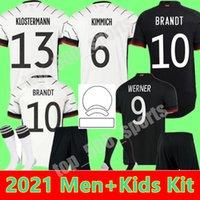 2021 Hombre Femenino Kit Kit Fútbol Jersey Jóvenes 21 22 Hummels Kroos Draxler Reus Muller Gotze Kimmich Camisa de Fútbol Uniforme