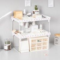 Hooks & Rails Home Closet Organizer Storage Shelf For Kitchen Rack Space Saving Wardrobe Decorative Shelves Cabinet Holders