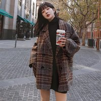 Women's Wool & Blends Attached Buyer Show Video 2021 Autumn And Winter Women's Main Push Woolen Jacket Nizi Suit