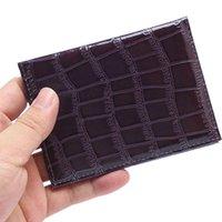 Card Holders Small Women's Wallet Female Crocodile Pattern Zipper Coin Purses Luxury Designer Holder Clutch Ladies Money Bags Handbags