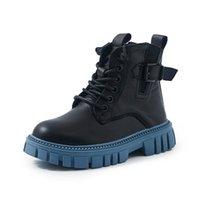 Girls Boys Boots Kids Shoes Children Footwear Childrens Short Boot Autumn Winter Students Shoe Wear Moccasins Sof B8683