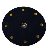 Inch 9 trous crochet boucle de ponçage Backing PAD Pneumatique orbital Sander Disques Disques Porter Câble Sauvegarde Sucre sur Care Produits