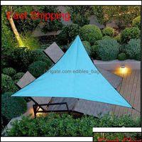 Buildings Patio, Lawn Home & Gardenoutdoor Waterproof Triangar Uv Shade Combination Net Triangle Sun Sail Tent Cam Garden Sunscreen Qyltdd B