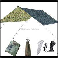 Hammocks Furniture Home & Gardennaturehike Shade Tents Outdoor Hammock Set For Beach Mat Camping Carpet Waterproof Cloth Ultralight Moisture