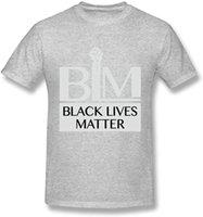 T-shirts Hommes 2021 Arrivées d'été Tees Black Lives Mentions Hommes à manches courtes T-shirt graphique occasionnel Hauts