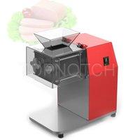 Elektrische Gewerbungsküche Frisches Fleisch Hühnerbrust Slicer Verarbeitungsmaschine Edelstahl Fleischschneider