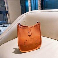 المصممون المصممين حقائب Crossbody Multi Eska إلكتروني نسخة عالية النسخة المرأة H جوفاء اللون الربط الواحدة فرد p zhouzhoubao123 دلو حقيبة