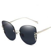 Солнцезащитные очки Женщины Сексуальная Кошка Личности Безрасмысленные Модный Наружный Высокопроводный дизайн Женский Бич Туризм Солнцезащитные Очки