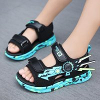 Sandals Arrival Fashion Summer Beach Children Shoes Mesh Breathable Mecha Baby Outdoor Casual For Boy 2021