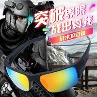 Солнцезащитные очки Поляризационные солнцезащитные очки США Тактическая стрельба Востейны Ветрозащитный взрывозащищенный пуленепробиваемый военный вентилятор Glassa418