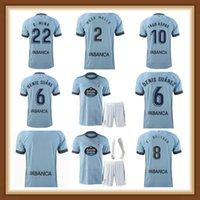 Uomo e bambini 2021 2022 Celta de Vigo Jersey di calcio Lobotka Iago Aspas Santl Camicia calcio Sisto Boufal Camiseta Futbol Kit