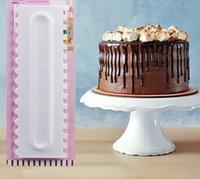 Totilles de gâteau Cracher Pâtisserie Décoration Peigne Gleur de conception Textures de conception Cuisine Accessoires de cuisine Moule