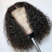 Malaysian Virgin Human Hair Wig Lace front Black Color Pre Plucked Natural hairline Bleach Knot #1b
