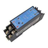 Isolato 4-20mA 0-5 V 0-75mv 0-10 V Signal Converter Parts Parts Isolatore Guida DIN Guida 24 V Alimentazione 1.5KV Isolamento Analogico Attrezzo Attuale Condizionatore del segnale di tensione