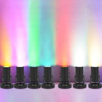 Novelty Lighting 1W LED Stage Spotlight Effect Beam Light Small Lantern KTV Bar Disco Flash Colorful Practical
