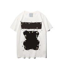 Uniex женщин животных печати футболка мужские повседневные тройники лето в стиле мода верхний человек с коротким рукавом модный хип-хоп уличная одежда уличная уличная одежда2021