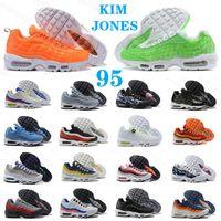 Mujer Hombre 95 TT Hombres Zapatillas de correr Airmax95 Paquete mundial Yin Yang Triple Negro Blanco Neón 95S Moda Plataforma al aire libre para hombre Entrenadores para mujer Deportes Sneaker