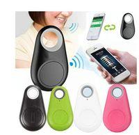 Mini Teléfono inalámbrico Bluetooth 4.0 No GPS Smart Tracker Alarma ITAG FinG Play Finder Grabación de voz Anti-perdida Selfie Shutter para iOS Android Smartphone