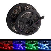 Strip Light 12V 5M Waterproof Flexible Ledstrip DC Diode Tape RGB Neon For Room Bedroom Strips LED