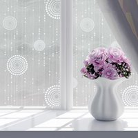 Window Stickers Decorative Cling Home Frosted Removable Kitchen Simple Waterproof Bathroom Privacy Self Adhesive Glass Sticker Film