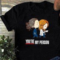 Grays Bayan T Gömlek Anatomisi Sen benim Kişi Benim Harajuku En İyi Arkadaşı Hediyeler için Hediyeler Tshirt Hemşire Top Tees