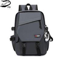 Fengdong Teenage School Sac à dos pour garçon Cool Grand sac de livre imperméable sacs léger