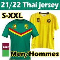 Camerun 2021 National Team Soccer Jersey Home Green 21/22 Choupo-Moting Aboubakar Toko Ekambi Ganago Bassogog Zoua Adult Football Jerseys