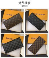 M40764 Famous designer classic fashion leather wallet for men and women, wallet,Luxury designer bag pocket change, passport book, card bag, N60534
