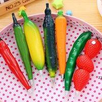 Penna a sfera della frutta di verdure penna di gel creativa della penna a sfera del fumetto Penna a sfera della penna di frutta e della verdura Penne a sfera 16 Style HWF8840