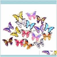 Charms résultats Composants Bijouterie Pendentif papillon 100pcs Lot 12 * 15mm Enamel Animal Charm Pendentifs Ajuster pour Collier Bracelet Bracelet DIY